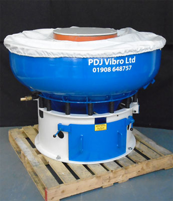 Vibratory bowl finishing machine