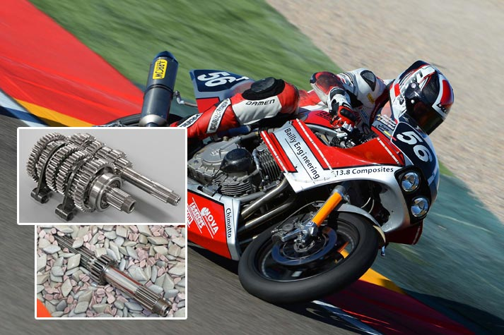 Polishing of Superbike Gears Reduces Wear and Increases Power