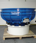 20 Cubic foot vibratory bowl