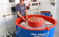 Vibratory Bowl Machine in Use