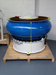 600 Litre Curved Circular Vibratory Bowl Finisher