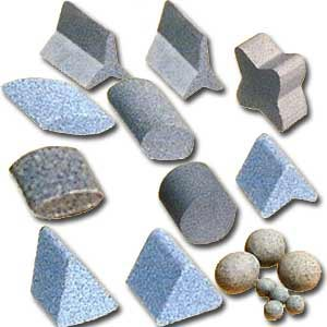 ceramic abrasive chips