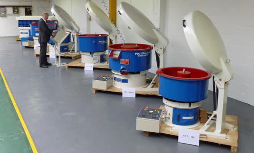 Vibratory equipment showroom