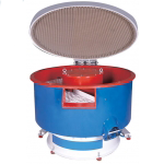 Vibratory Bowl Finishing Machine, with parts unload
