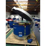 500 Litre Circular vibratory bowl finisher